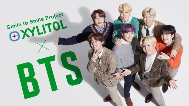 XYLITOL×BTS「Smile to Smile Project」イメージ